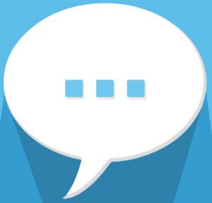 Sprechblase - Kundenfeedback