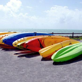 Kanu Boote Outdoor Ausruestung Lagern