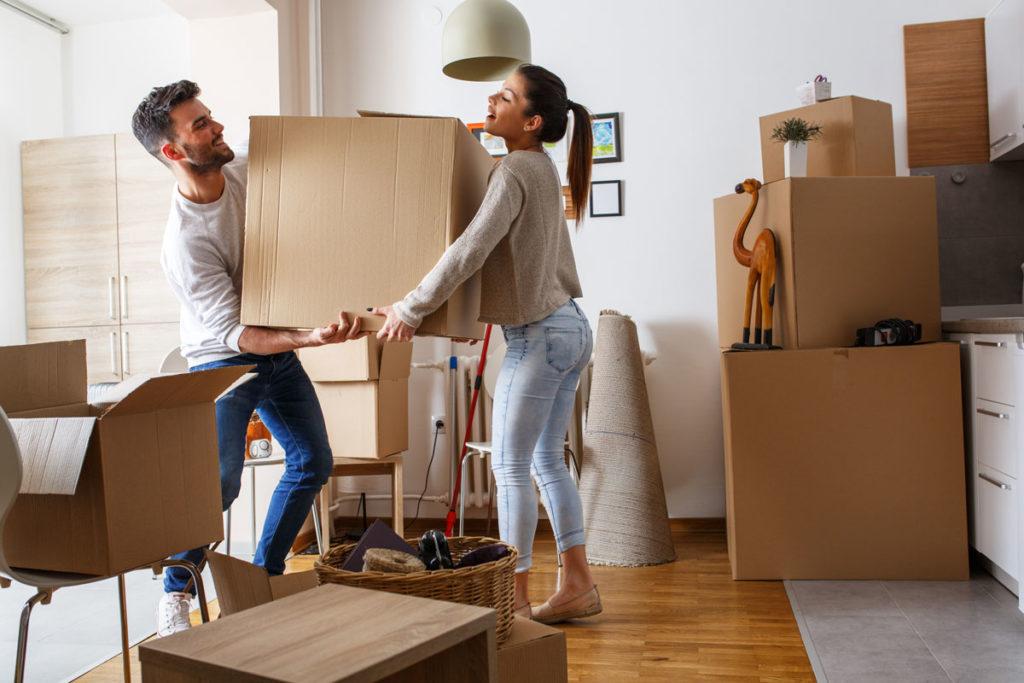 Doppelter Hausstand - Umzug nach Hochzeit